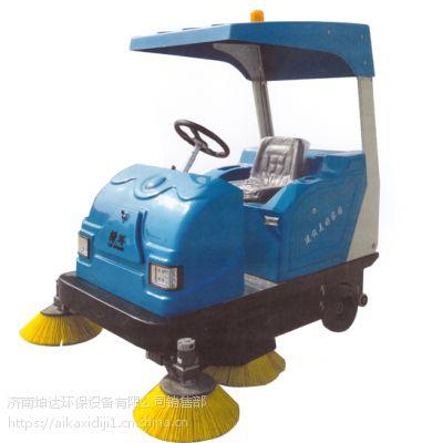 德州驾驶扫地机 扫地车LN1760 手推扫地机 洗地机济南坤达环保2017免费试机