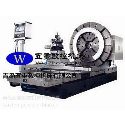 青岛五重数控专业制造法兰、短轴类高速数控端面车床