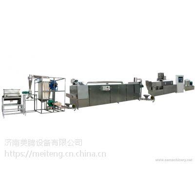 供应膨化机械-变性淀粉生产设备-济南美腾