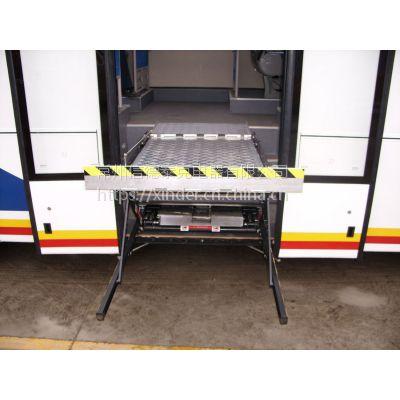 供应公交车城际巴士用轮椅升降机轮椅举升机液压升降台