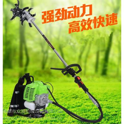 手推式园林割草机 牧场专用割草机 两冲程背负式汽油割灌机