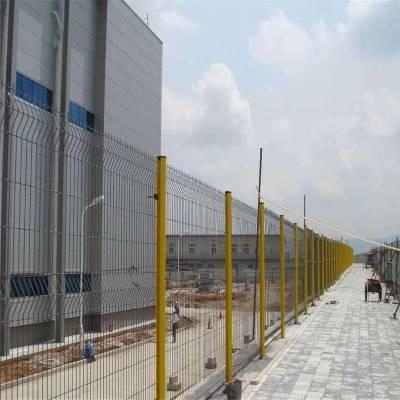 室外隔离栏 围墙栅栏工程 围墙的栏杆