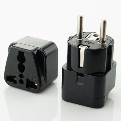 供应万浦德国欧洲旅游插座转换器