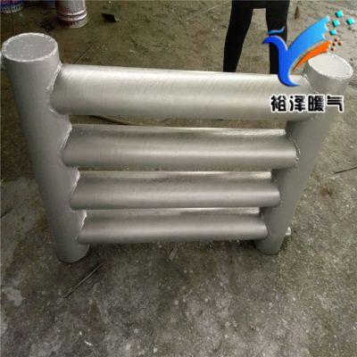 光排管暖气片D65-2-6大型光面管生产定制裕泽采暖