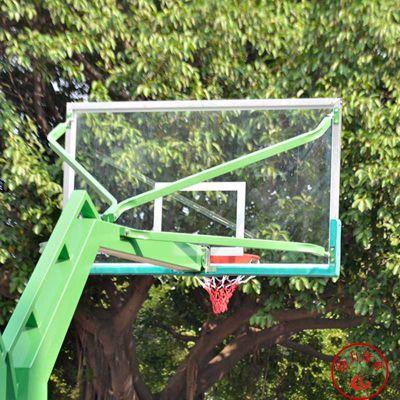 珠海户外固定篮球架圆管埋地给力体育017型号1500元起