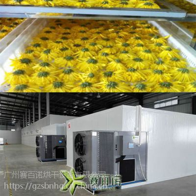 金丝皇菊热泵烘干机 高效保温热泵烘干房