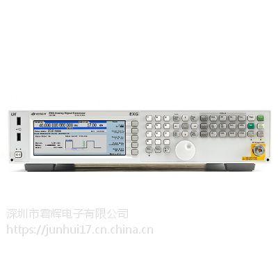 美国安捷伦N5173B EXG X 系列微波模拟信号发生器