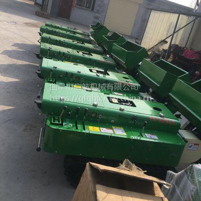 特价推荐履带式拖拉机 启航自走式施肥机 35马力电启动农用履带开沟机