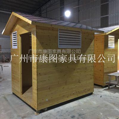 重庆市防腐木售货亭康图批发价格