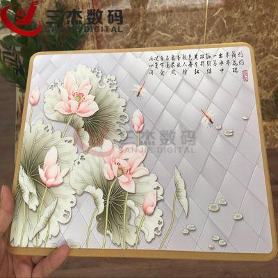 彩妆亚克力板白云区uv平板打印机/木板工艺品3d彩印机