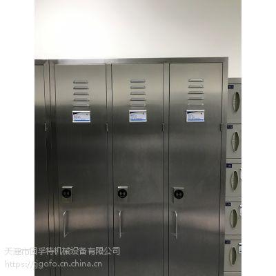 北京不锈钢置物柜 专业生产201 304不锈钢单开门柜厂家