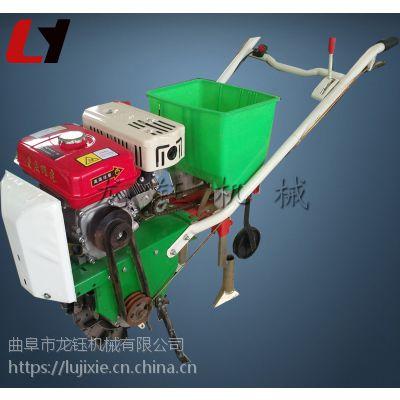 秋季汽油播种机 多功能精播施肥机械
