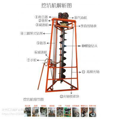 优质低价电线杆挖坑机生产厂家地钻哪家好