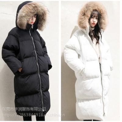 哪里有便宜韩版冬装外套批发库存韩版女装棉衣厂家低价大量批发 适合地摊货源羽绒服