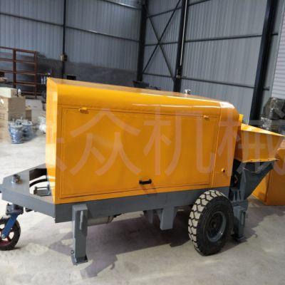 车载式混凝土输送泵二次构造柱输送泵40型细石混凝土泵