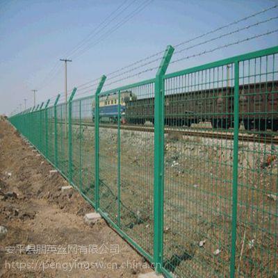 朋英 定做 框架护栏网 框架焊接护栏网 景区铁丝隔离栅
