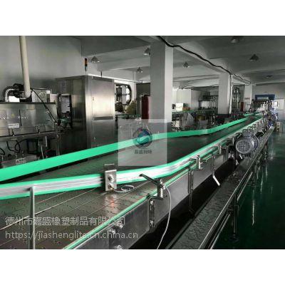 聚乙烯绿色挤出耐磨条 高分子输送线护栏 抗静电UPE滑轨