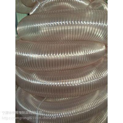 山东丰荣橡塑制品有限公司 耐热pu钢丝软管 实力工厂 质量有保障 欢迎洽谈