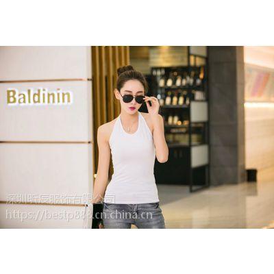 韩版女装批发东莞厂家直销便宜夏季衣服批发韩版时尚长短袖T恤热销