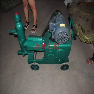供应 WSB-3单缸注浆机 金林设备深基坑支护活塞泵单缸水泥