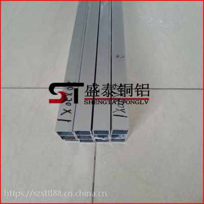 盛泰厂家批发 6063-T5铝方管 氧化铝方管 可精密切割