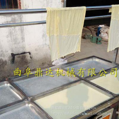 腐竹机做的腐竹好吃吗 全自动腐竹油皮机厂家鼎达机械
