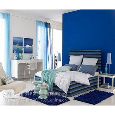 【誉巢别墅装饰】来看别墅加一点点蓝色装饰,居然可以如此惊艳哇