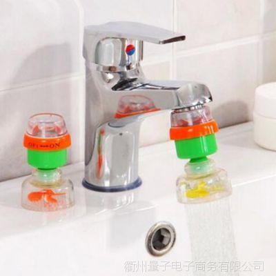 厨房防溅水滤水器家用自来水过滤器可旋转活性炭磁化水龙头净水器
