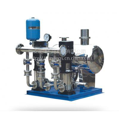 兰州箱式无负压供水设备 兰州恒压变频无塔成套供水无负压给水设备 RJ-2224