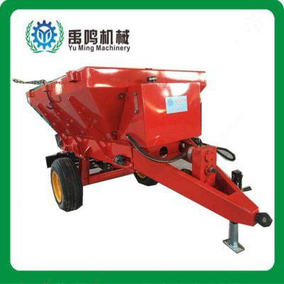 撒粪车土家肥撒粪车DFC5500撒肥车5.5吨四轮拖拉机悬挂大型施肥器厂家直销