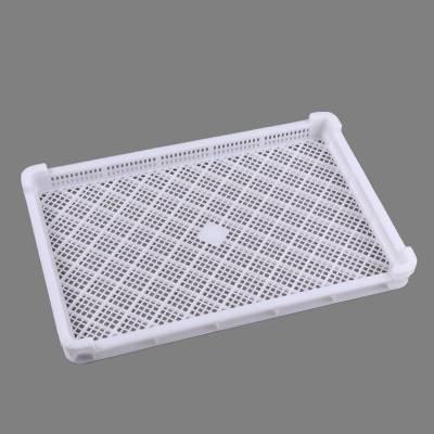 批发600*400食品单冻盘PE原料单冻器烘干盘食品速冻盘