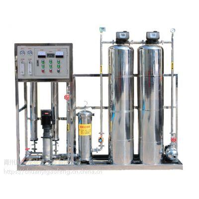 供应山东川一0.5吨反渗透水处理设备花卉浇灌用水设备 18663625495