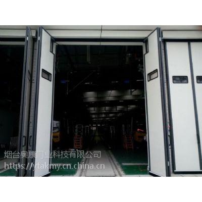 烟台GM厂房工业折叠门