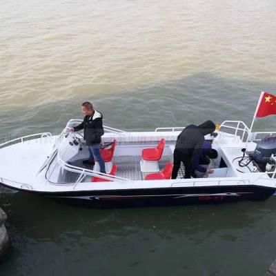 厂家私人定制4人电动观光船/玻璃钢脚踏船/水上自行车/6坐救生快艇