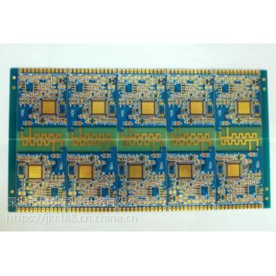 生产双面多层绿油半孔PCB 镀金半孔线路板厂 线路板 电路板