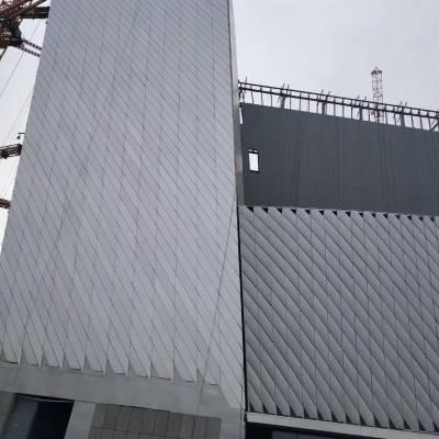 打孔铝单板天花 方柱2.5铝单板价格  铝单板安装结构