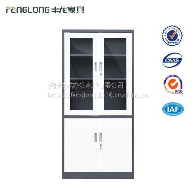 北京钢制文件柜办公柜带锁资料柜财务档案柜