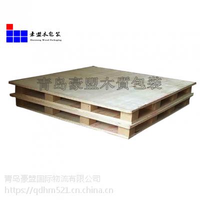 胶南木托盘木箱厂家就找青岛豪盟木质包装联系电话地址
