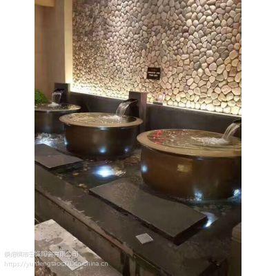 云锋陶瓷温泉日式极乐汤洗浴中心陶瓷泡汤缸