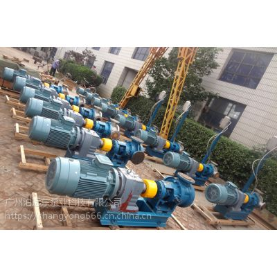 高粘度环氧树脂泵NYP50B-RU-104U-W51不锈钢高粘度泵
