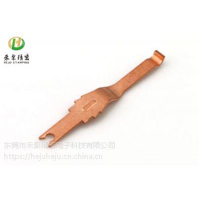 厂家生产TV天线弹片 磷铜接触片 不锈钢导电片 充电弹片冲压件