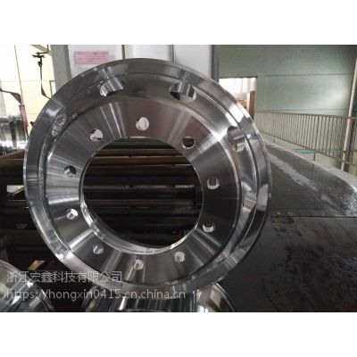 半挂车22.5*9.0专用轻量化浙江宏鑫科技有限公司生产锻造镁铝合金卡客车