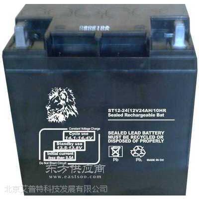 金狮蓄电池12V24AH 金狮蓄电池ST12-24