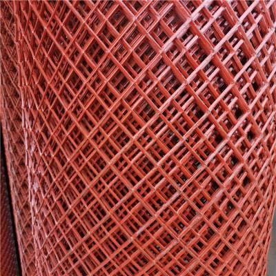 小孔金属板网 包塑菱形防护网 圈玉米钢板网