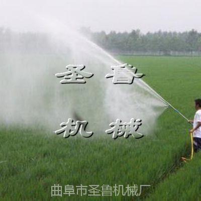 农用汽油高压喷雾器 圣鲁手推果树打药机 大棚弥雾机