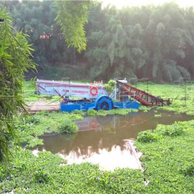 湖北宜昌收割水草机械 打捞水葫芦设备