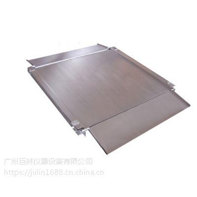 樱花超薄小地磅 工业小地磅不锈钢电子秤 1T~3T平台秤电子磅秤