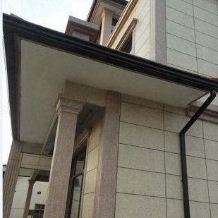 保定K型铝合金雨水槽屋檐接水器咖啡色