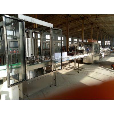 18头旋转式酒水灌装生产线酒水灌装机厂家酒瓶自动定量灌装设备