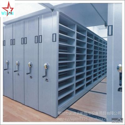 档案库房密集架设备 操作简便 轻松省力 六层钢制 多功能型 欢迎选购